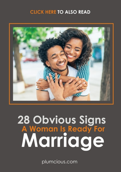 Signs a Woman is Ready for Marriage