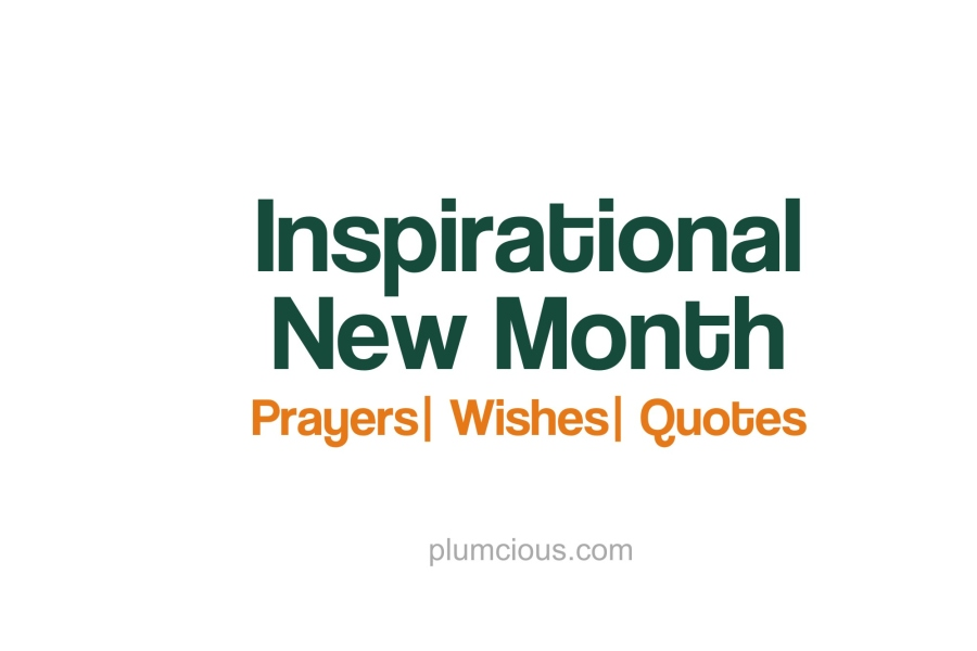 New Month Prayers and Blessings