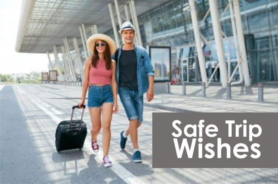 Safe Trip Prayer Messages
