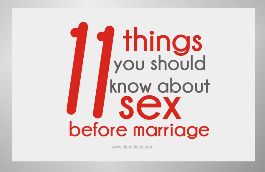 Facts About Sex Before Marriage